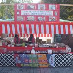 山田錦米粉を使った創作菓子を展示販売