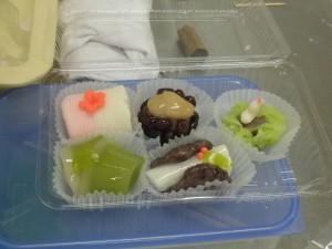 昨年の和菓子教室